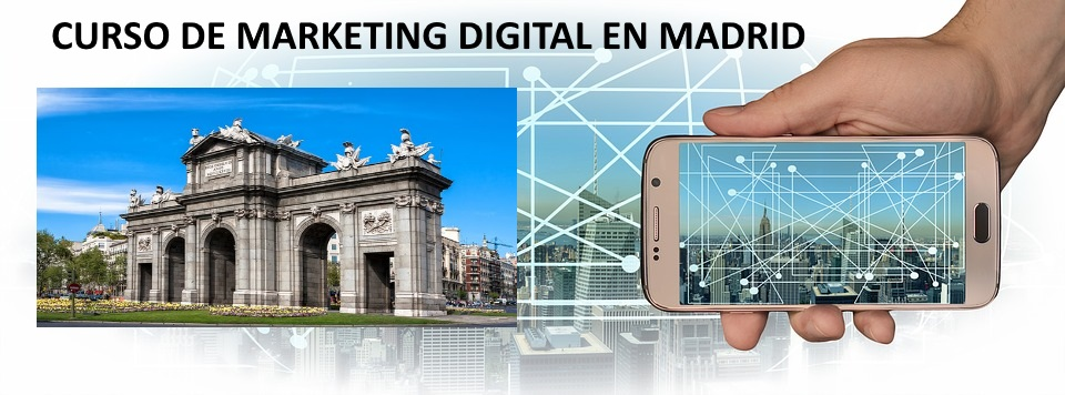 Curso de marketing digital Madrid