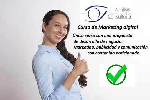 Curso marketing digital presencial